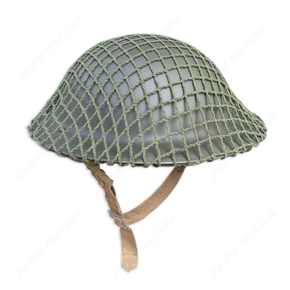 WW2 UK British Army MK2 helmet net cover High-Quality Replica-UK/407109 maryland terrapins deluxe replica helmet college replica helmets
