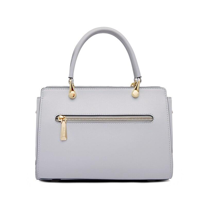 Bolsos de lujo de cuero genuino bolsos de mensajero de mujer bolso de hombro de diseñador bolso de mano de mujer bolsos de lujo bolsa femenina # Y110-in Cubos from Maletas y bolsas    3