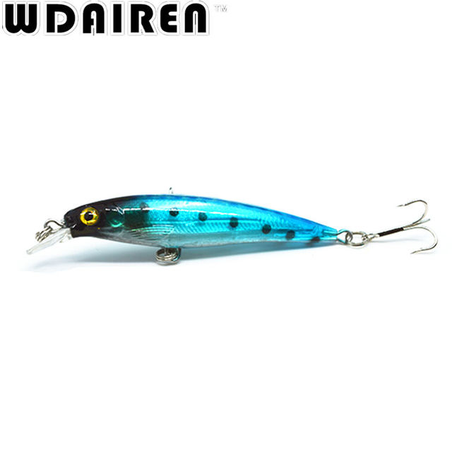1Pcs 8.5cm 7.2g Floating Wobblers Crank bait Minnow Fishing Lure Laser Hard Artificial Bait 3D Eyes Fishing Minnows NE-274