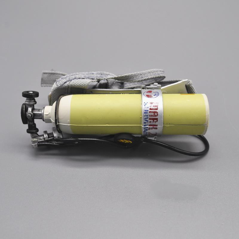 "1//6 Hot Survivair Oxygen Cylinder Diving Tank for 12/"" Action figure Toys"