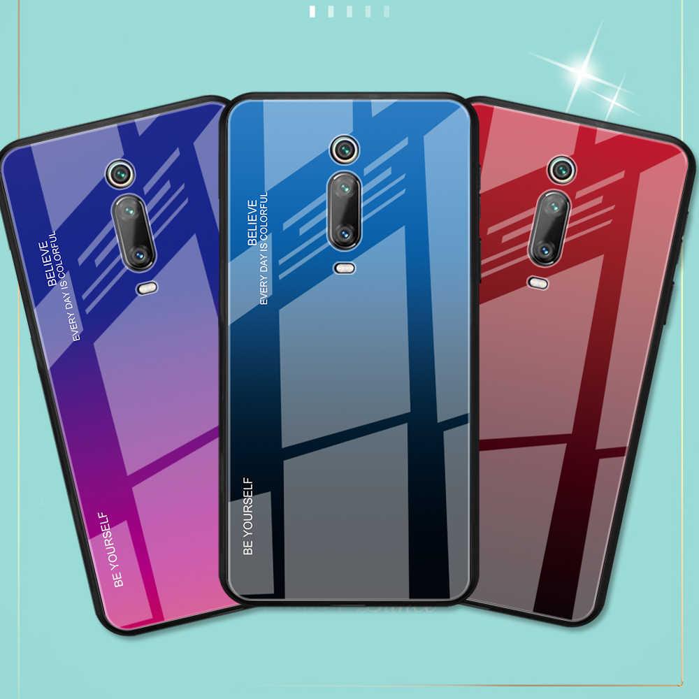 Xiao mi redmi note 7 Чехол из закаленного стекла чехол для Xiaomi mi 9 8 lite 6 redmi note 6 Pro mi 5 redmi 5 mi x 3 6a K20 CC9 A1 A2
