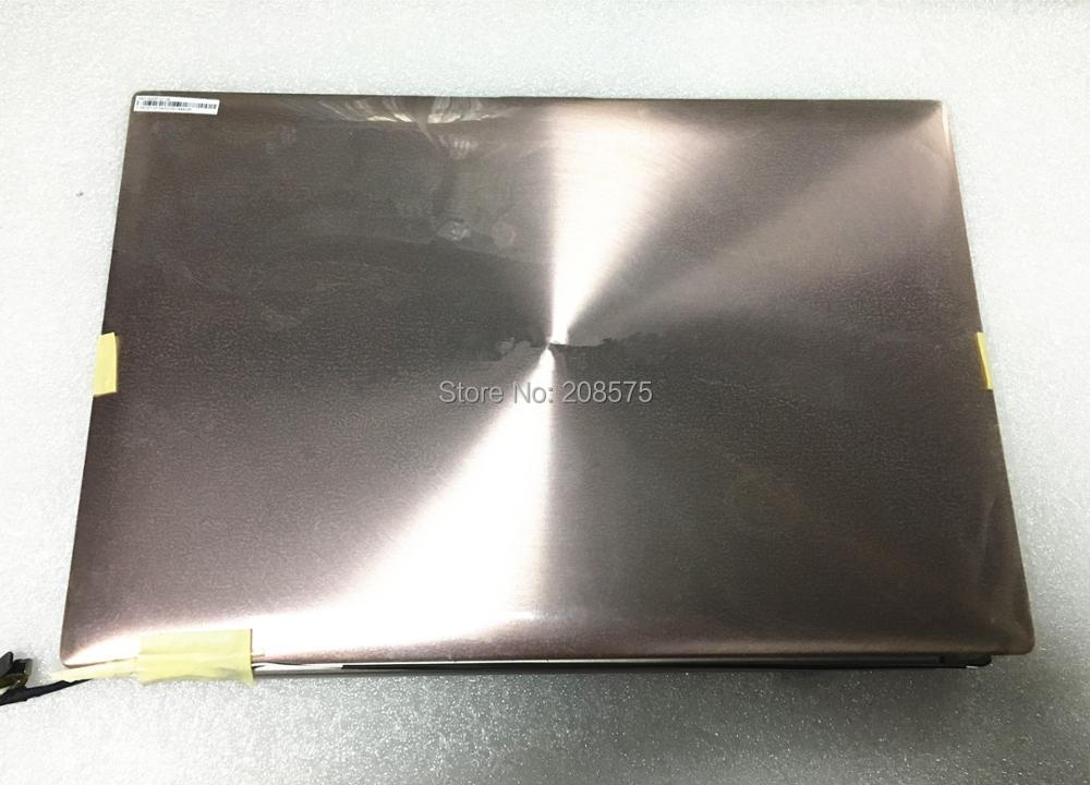 Free Shipping! UX31E LCD Screen Assembly 13.3 inch For Asus Zenbook UX31E HW13HDP101 with Champagne gold for asus zenbook ux31 ux31e ux31a ux31e ux32a ux32e ux32v ux32vd k ux31a ux31e bx32 laptop keyboard it italian backlight paper
