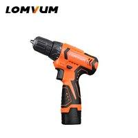 Lomvum Nuovo Mini Power Tools 12/16/24 v Elettrici Strumenti Trapani a Mano Ricaricabile Trapano Avvitatore Elettrico longyun