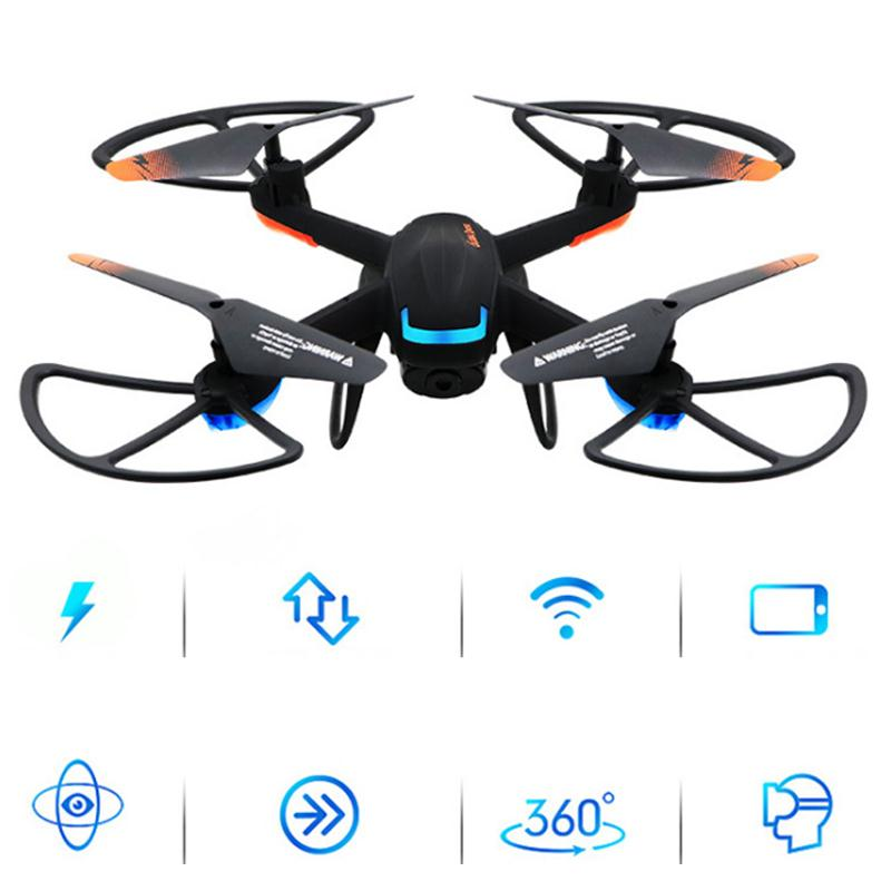 2017 GW007-2 RC Quadcopter MIni Drone With Camera HD Wifi Professional Drone Selfie Drone Helicopter Aircraft Video Dron FPV