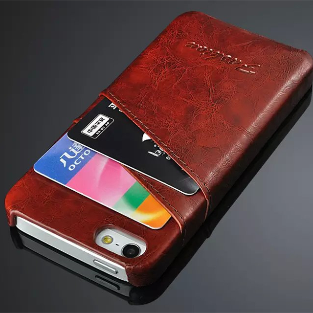 finest selection 78cad f9325 Fashion , Business Style leather back Case For Apple iPhone 5S 5G SE ...