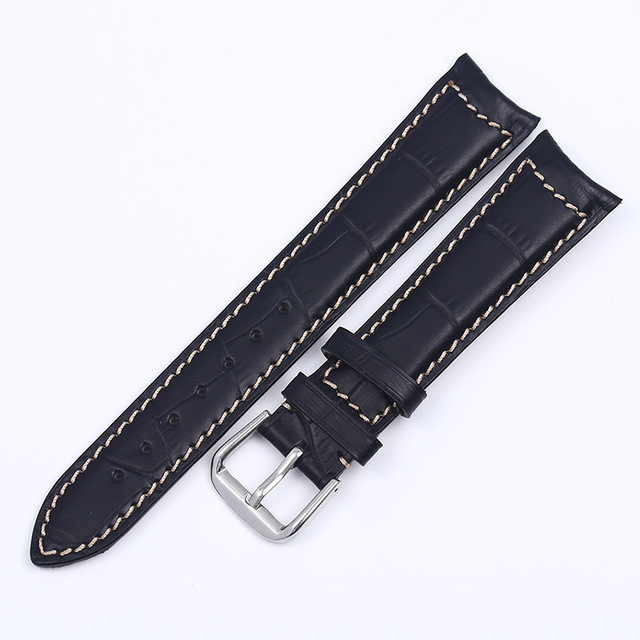 Plus Strap 2019 New Business Handmade Leather Strap Waterproof Watch Strap For Jaeger-LeCoultre MASTER 19 20 21 22MM Watchbands | Fotoflaco.net