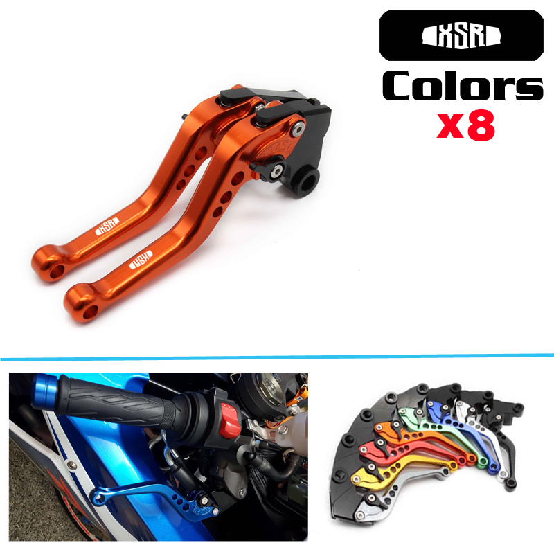 Motorcycle CNC Short Adjustable Brake Clutch Levers For YAMAHA XSR 700 ABS XSR 900 ABS 2016