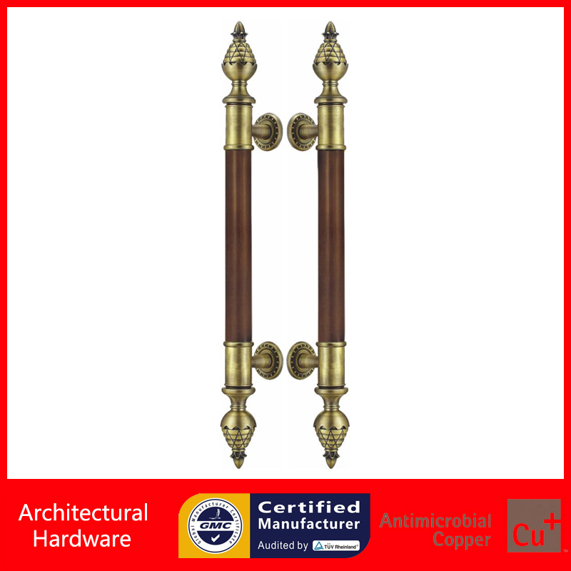 Entrance Door Handle,Black Peach-Wood+Bronze Pull Handles PA-255-38*1000mm For Wooden/Glass/Metal Doors 2000mm length square tube golden entrance door handle stainless steel pull handles for wooden metal glass doors pa 637