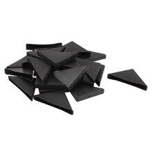 MACH 24 Pcs Triple cornered Shape Furniture Glass Table Corner Protector 10mmx75mm