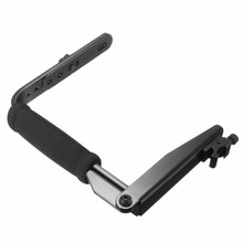 slr Camera Flash Bracket Grip Aluminium Alloy Quick Flip Flash Bracket Grip Camera Flash Arm Holder For Nikon For Canon DSLR(China)
