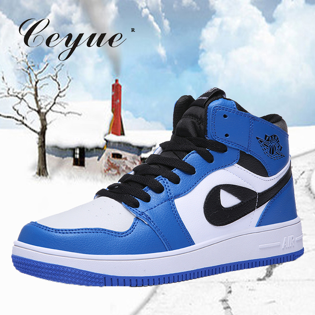 new concept b1e18 6a50d US $19.51 39% OFF|Skateboarding Shoes Men Jordan Shoes Women Comfortable  Sports Shoes Athletic Mens Air Shoes Sneakers AJ1 Plus Size 36 45 -in ...