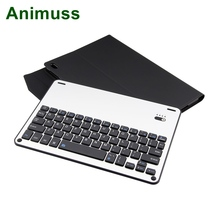 Animuss Split Aluminum Wireless Keyboard Cover For iPad Pro 10.5 Case Perfect MATCH Slim Fit Flip Leather Stand