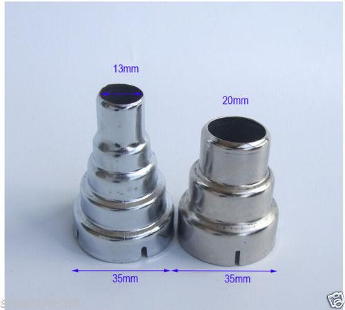 2PCS Round Diameter 35mm Nozzle TO 20mm 13mm Nozzle For Handheld Hot Air Gun