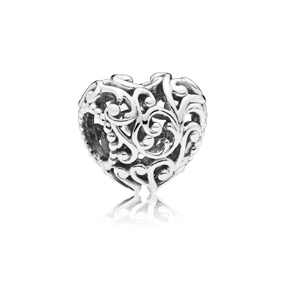 Новая семья навсегда жизнь дерево замок бусы в форме сердца подходят оригинальные Pandora Подвески Серебро 925 браслет брелок ювелирные изделия DIY женщин - Цвет: A1456