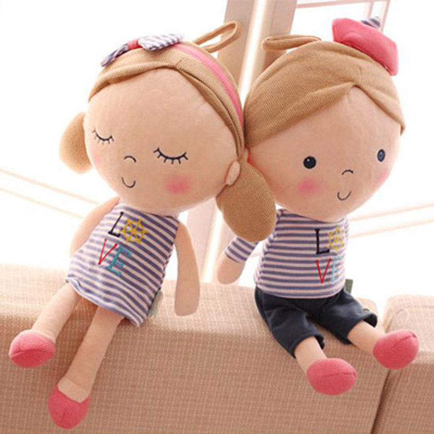 Genuine Metoo Cartoon Stuffed Animals Angela Plush Toys Sleeping Dolls 5 Colors