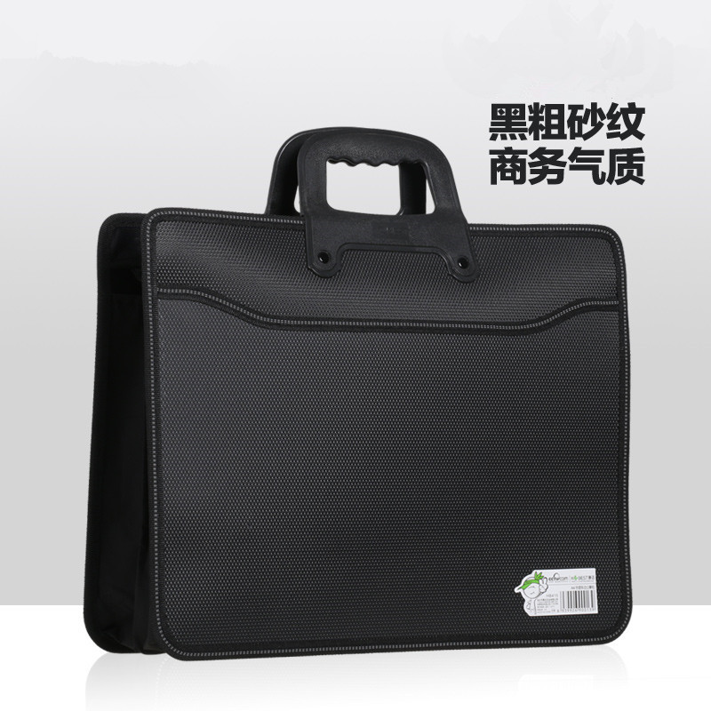 Business A4 Zipper Men Document Bags Portable File Folder/ Briefcase Business Document Bags