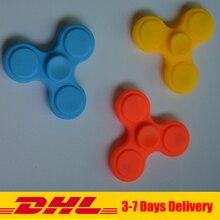 100 PCS DHL Hand Spinner Toys Finger Spinner For EDC gyroscope Tri-Spinner Plastic For Autism ADHD Adult/child Fidget Toys Gift