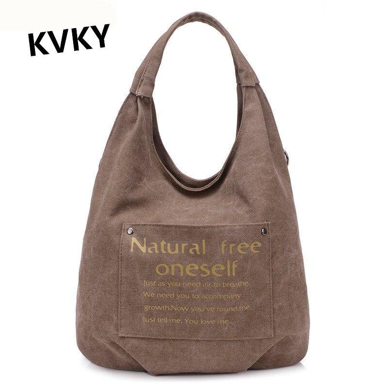 Female Canvas Quality Messenger Bag Leisure Handbags Handbags Shoulder Crossbody Bag CH018