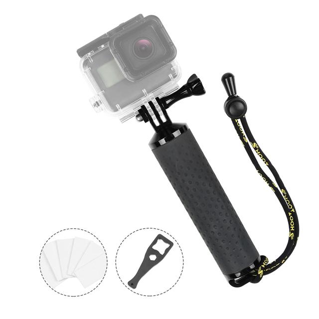 SHOOT Waterproof Floating Hand Grip Antislip Sport Floaty Bobber for GoPro Hero 7 6 5 4 Sjcam Yi Lite 4K Action Camera Accessory