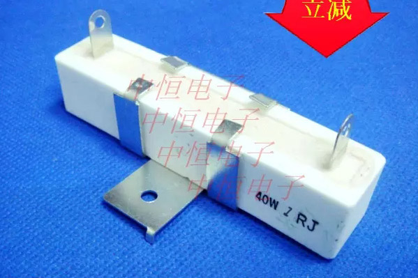 10PCS/LOTS 40W 1RJ RX27 40W100R Cement Resistance Ceramic Resistor Precision 5% Band Support