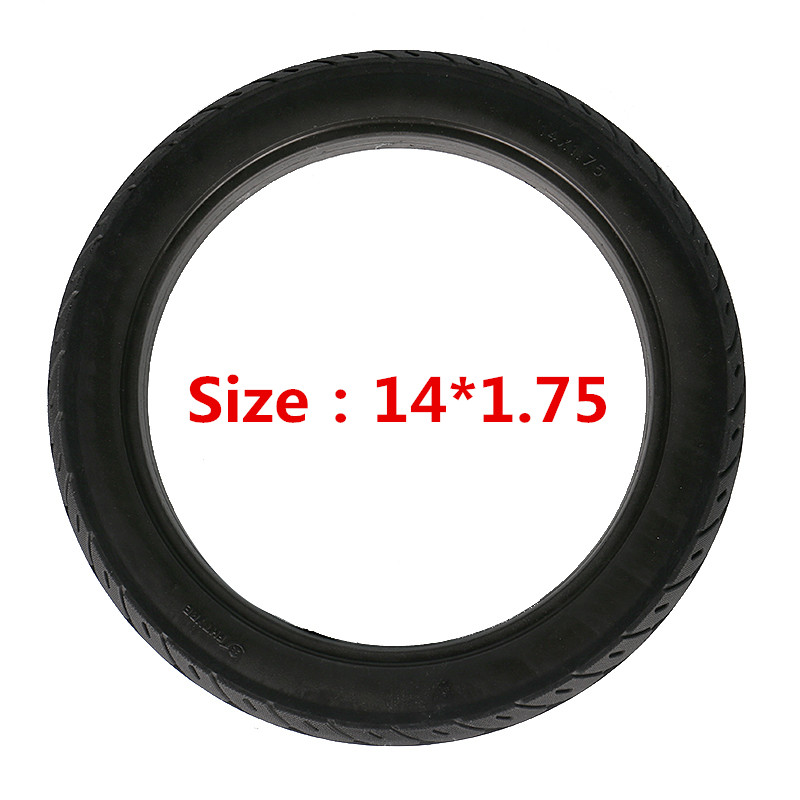 Bicycle Tires 14*2.50 Electric Car Solid Tire Anti Stab Electrombile Tyre
