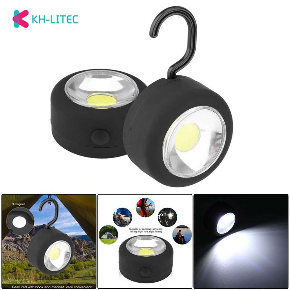 KHLITEC Ultra Bright Led Lightweight Camping Lanterns Light For Hiking Camping Fishing Emergencies Outages Magnet Hanging Lamp