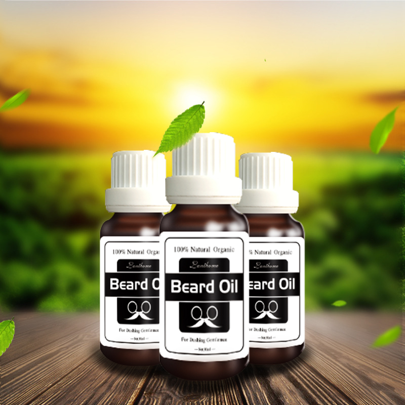 Natural nut essential oil dense hair thick hair promote beard hair growth cream for the beard grooming growth essence oils 3pcs