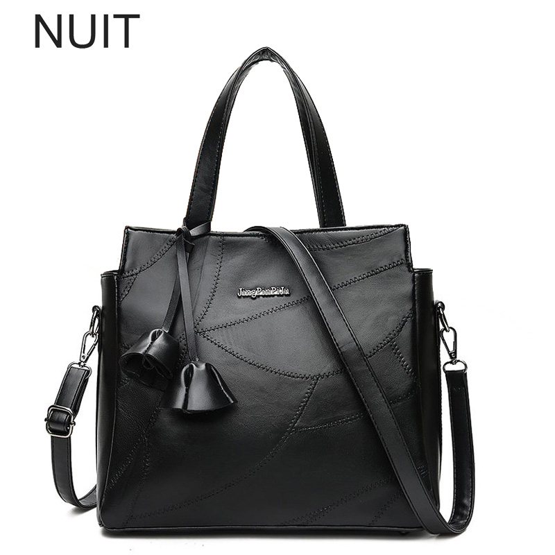 Pu Leather Tassel Women Handbags Fashion Ladies Shoulder Bag with Flowers  Designs Pu Leather Brand Tote Bag for Office ad37131ef1