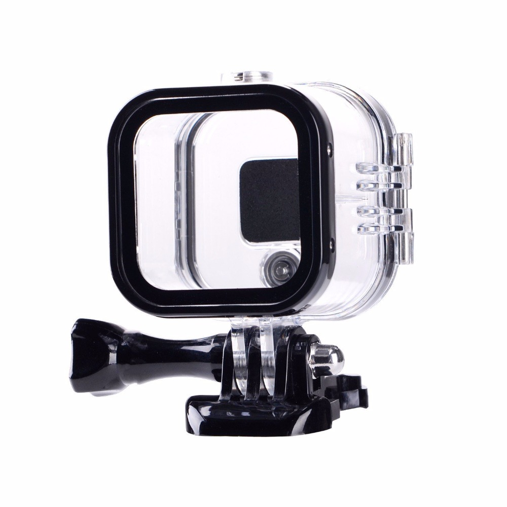 Suptig For Go Pro Session Waterproof Shell Case Underwater 60M Protection Housing Box For GoPro Hero 5 4 Session Accessories