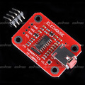 Digital FM Radio Transmitter Module for Arduino For Microphone Audio Signal Cable Free Shipping & Drop Shipping