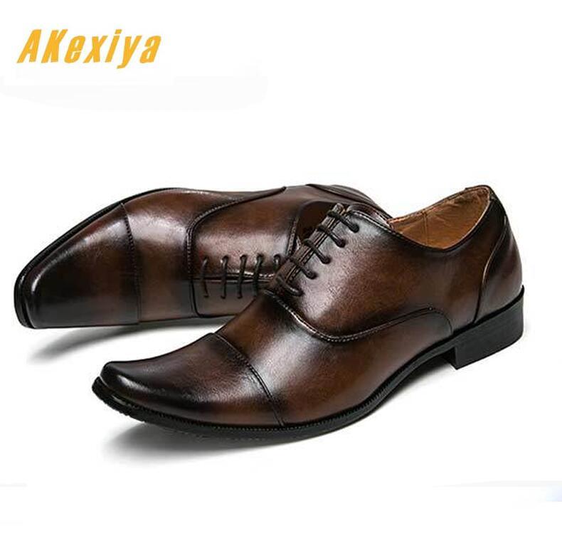 cd2220714 Negócios Chegada 1 Casamento Dos 2 De Sapatos Clássico Masculino Casa  Calçado Britânico Couro Homens Desenhador Vestido Apontou Nova ...