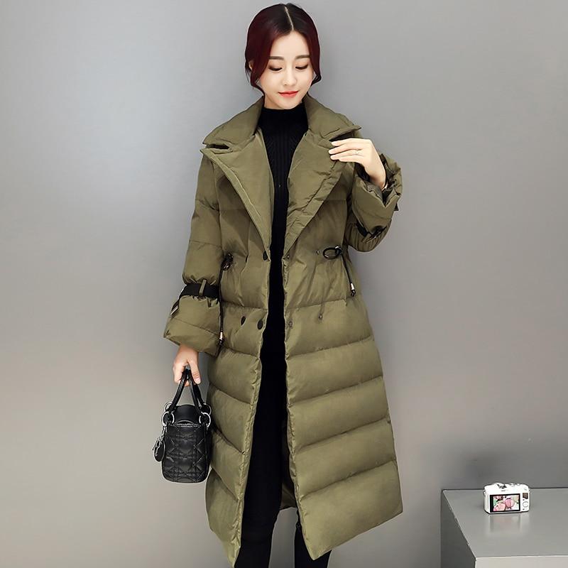 Maxi Manteaux Vogue Manteau Parkas Grande Black Réglable Bas purple Chaud army Femmes Red Épaississent white D'hiver Veste Vers Coton Le Longue Mujer 2017 jujube Green Survêtement Taille 7wZq6Uf0Wx