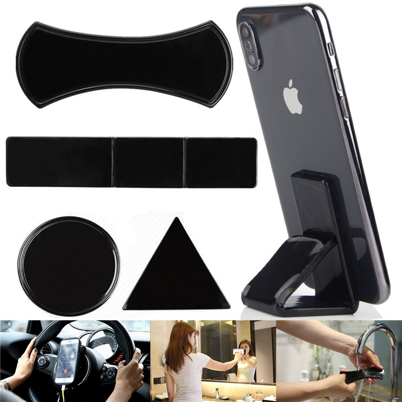 YK Universal Mobile Phone Holder Sticker For Tablet Car Multi-Function Phone Bracke Gel Magic NANO Rubber Stand Anti Slip Mat