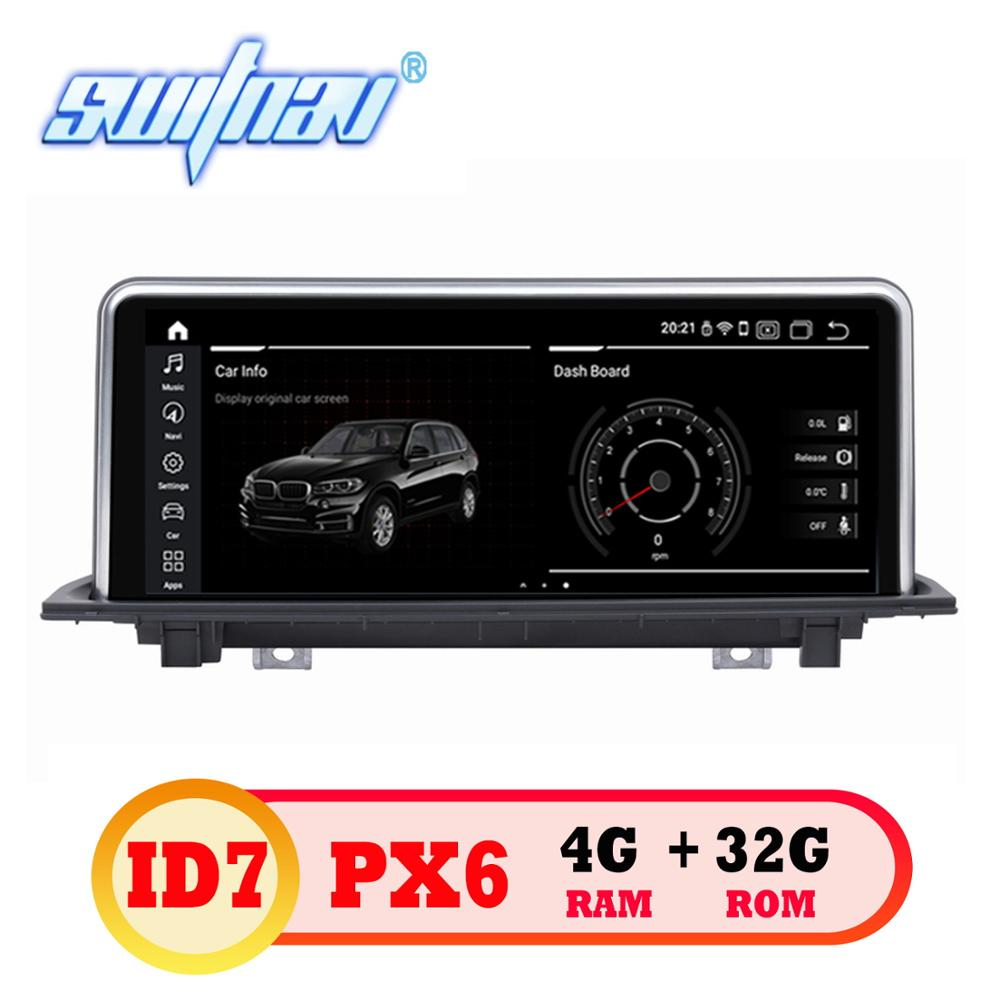 Android 9.0 ID7 6 core CAR DVD FOR BMW X1 F48 (2016 2017) Original NBT System player Multimedia stereo monitor ips screen in one-in Car Multimedia Player from Automobiles & Motorcycles    1