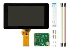 Raspberry Pi Con Pantalla Táctil de 7 pulgadas LCD Módulo de Pantalla Táctil