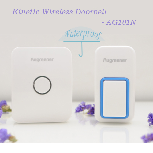 2 pcs Remote Control Wireless Cordless Doorbell 25 ring tones No Battery Push Button Plug in Chime Unit Wireless Doorbell Bell burglar alarm wireless doorbell villa jingle bell 2 branch remote control doorbell multiple ring tones electronic doorbell fc