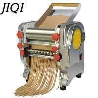 Nouilles électriques d'acier inoxydable faisant la Machine de pressage fabricant de pâtes boulette rouleau de pâte de coupeur de Spaghetti Commercial 3mm 9mm