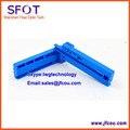 FTTH Волокна Инструмент, фиксированной длины Оптического Волокна Покрытие Зачистки Резки BIUE Guider Бар
