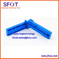 FTTH Fiber Tool, Fixed-length Fiber Optic Coating Stripper Cutting BIUE Guider Bar