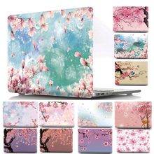 Sakura Pattern Hard Protective Case Cover Shell for Apple Mac MacBook Air 11 13 Pro 12 13 13.3 15 Fashion Women Men Bag Sleeve цена и фото