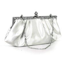 Großhandel 10 * Ivory Party Clutch Bag Bankett Handtasche Kleid Hochzeit Tasche