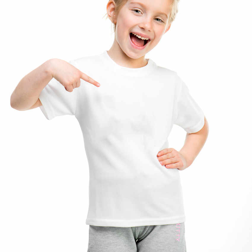 Rắn Trắng Sát Nách Cotton Modal Tùy Chỉnh Trẻ Em Mùa Hè Áo DIY In Hình Cô Gái Bé Trai Áo Bé trai Cổ cho