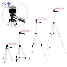 Cy 1 pcs 130 cm 전문 카메라 삼각대 스탠드 라이트 삼각대 로커 암 캐논 니콘 소니 dslr 카메라 전화 클립