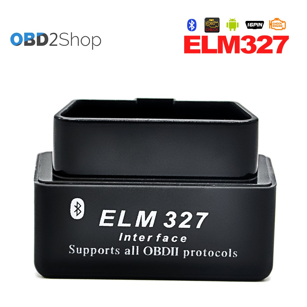 ELM327 v2.1 Mini ELM 327 Bluetooth OBDII OBD-II OBD2 Auto Diagnostic Tool works with And ...