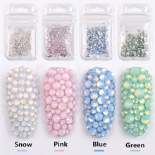 Colorful Nail Art Rhinestones 4 pcs Set