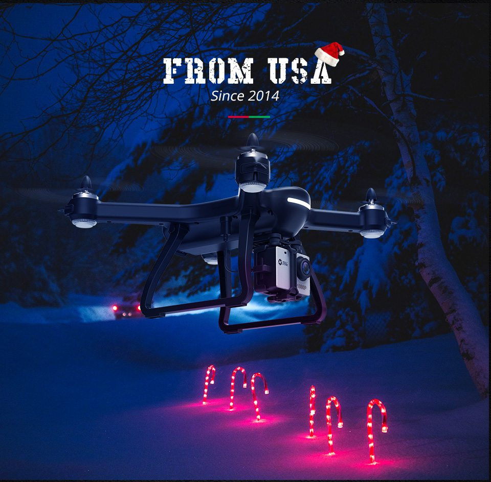 [USA EU Stock]Holy Stone HS700 1000m Range mins Flight Brushless Motor 5GHz 400m Wifi GPS FPV FHD 19*1080P 2800mAh GPS Drone 7