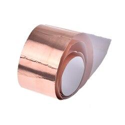 1-side Conductive Adhesive EMI Shielding Copper Foil Tape Great For Slug Repellent EMI Shielding Stained Glass 50mm X 1m