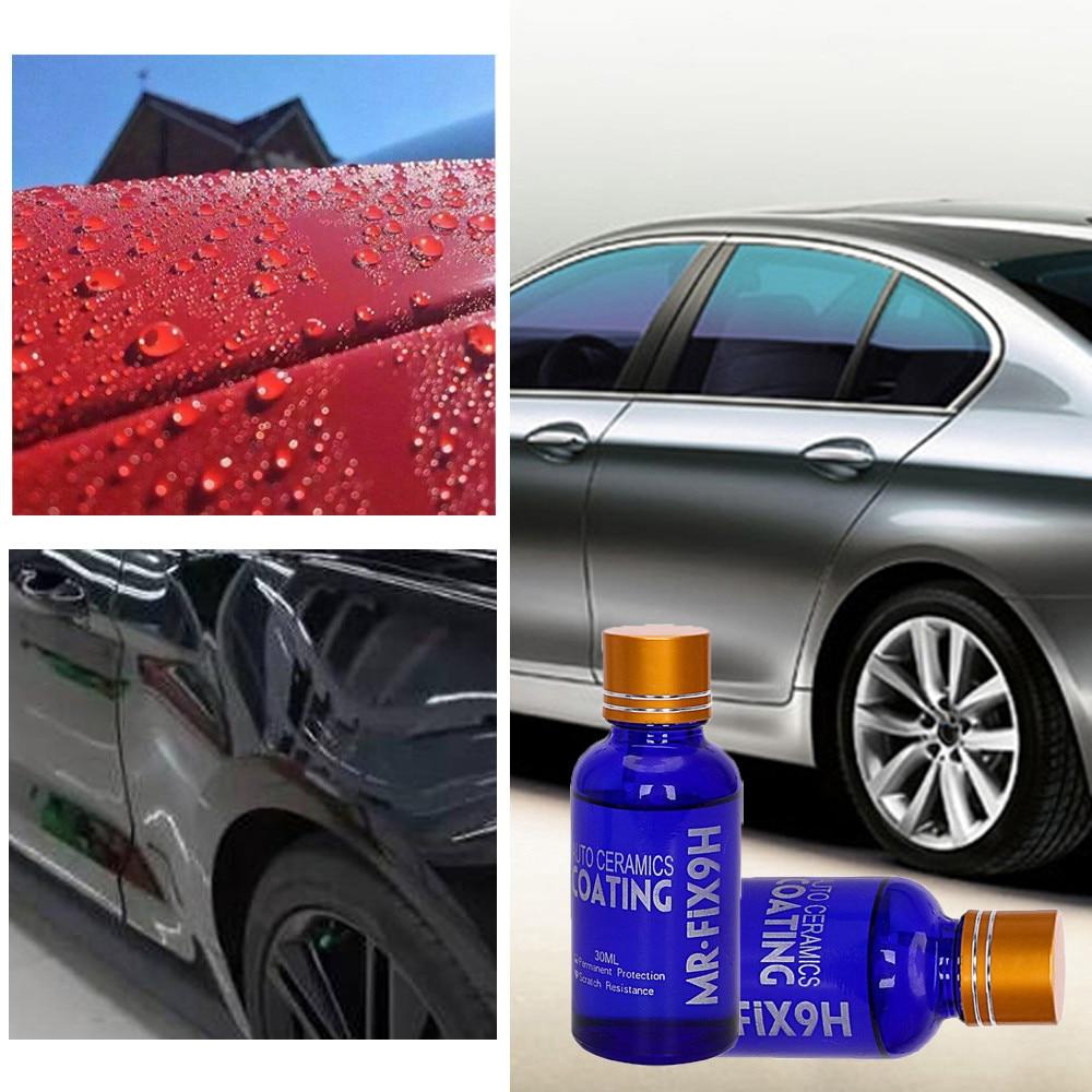 Cleaning Suits 30ML 9H Car super hydrophobic Glass Coating Car Liquid ceramic Coat Auto Paint CareCar liquid ceramic coat May.16