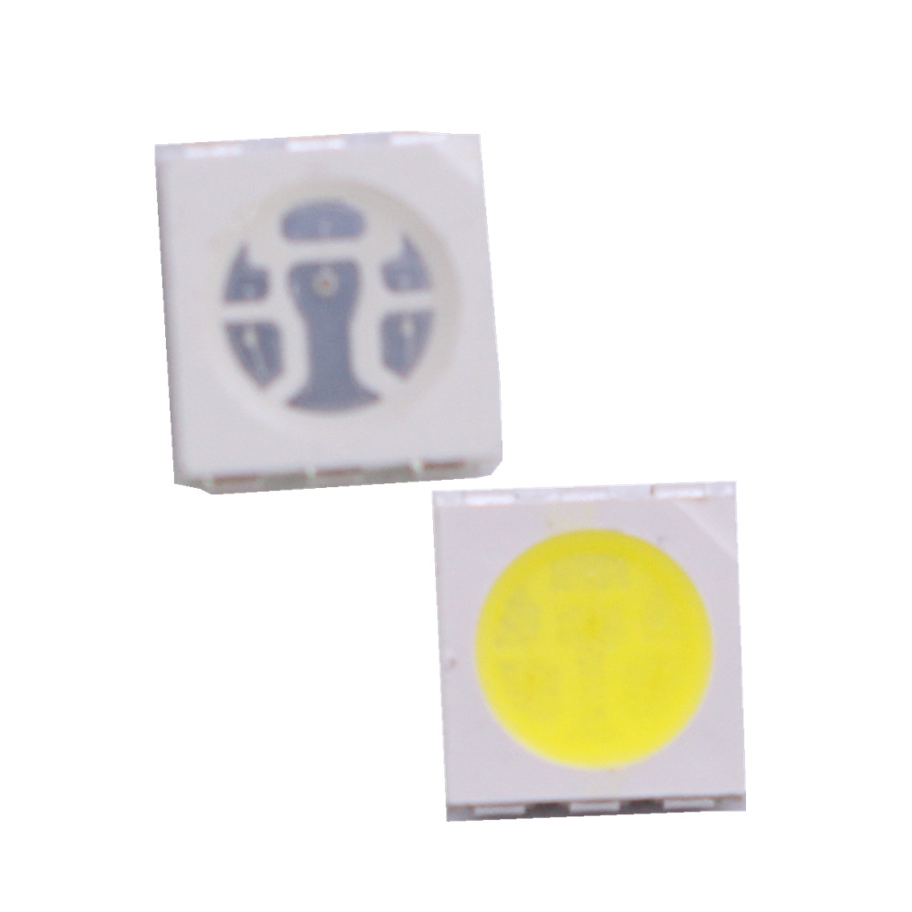 0.5W SMD 5050 LED Light Bead 40-45lm White/Warm White UV SMD LED lamp Beads LED Chip DC3.0-3.6V for LED Corn Light Bulb Strip image