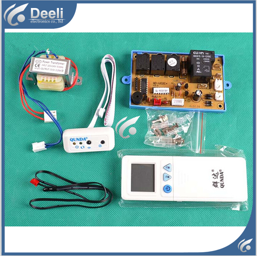 95% new good working for Air conditioning plate air conditioning conversion board qd-u02c plate new original analog conversion plate fx1n 2ad bd